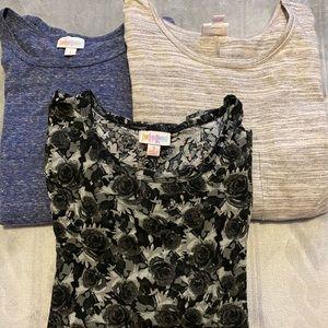 Set of 3 Lularoe Carly's